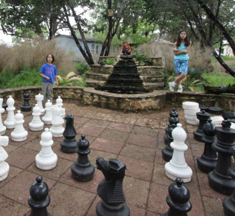 oversized chess game