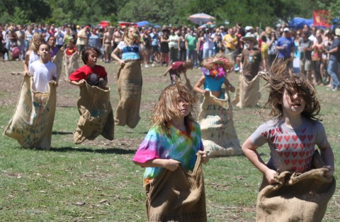 sack race at eeyore's 2010