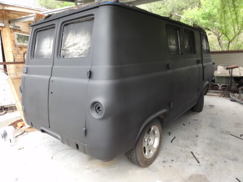rat rod early econoline