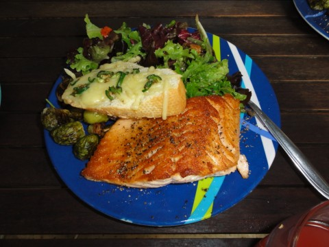 easter salmon feast