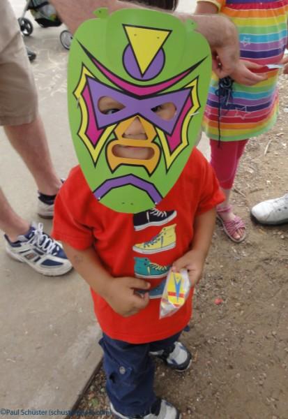 prize winning luchadore baby at eeyore's