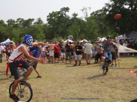 unicycle football at eeyore's 2011