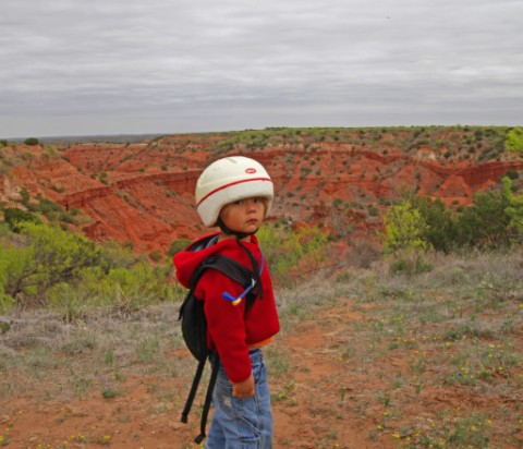 little explorer at caprock canyons texas