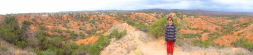 caprock canyon panoramic