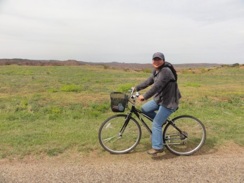 biking cycling at caprock canyon