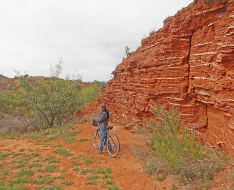 geoolgy at caprock canyon