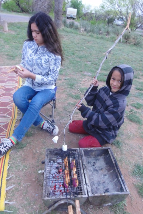 smores at caprock canyon