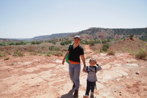 palo duro lighthouse trail hike