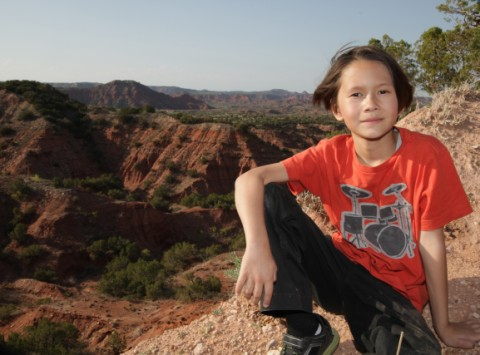 caprock canyon portrait