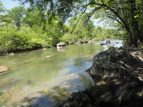 canoe and kayak on blanco river