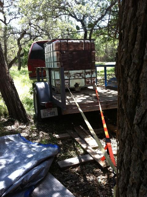 ibc water tank trailer wimberley