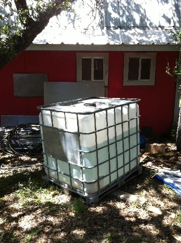 off grid water tank