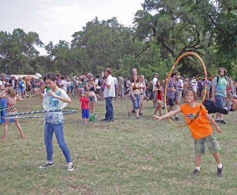 hula hoop fun at eeyore's 2012