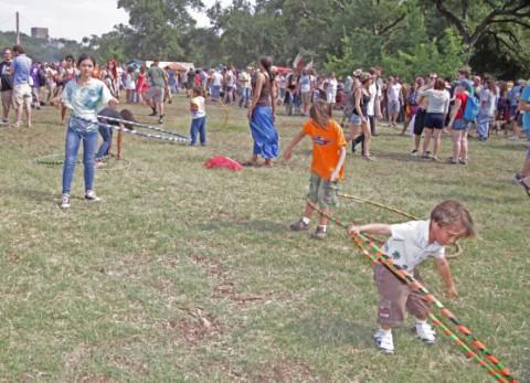 austin hula hoop kids