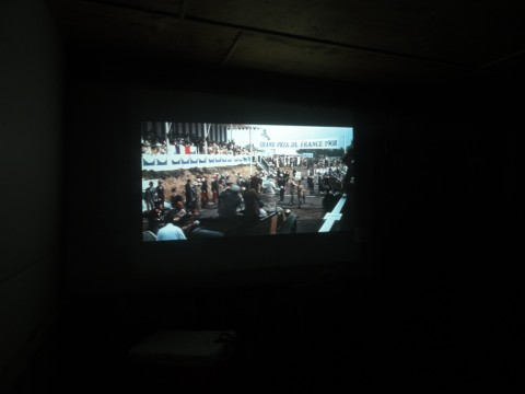 chitty chitty bang bang on the big screen projector