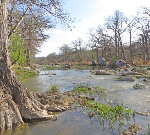 sprint time in texas hill country, wimberley 2013 blanco river