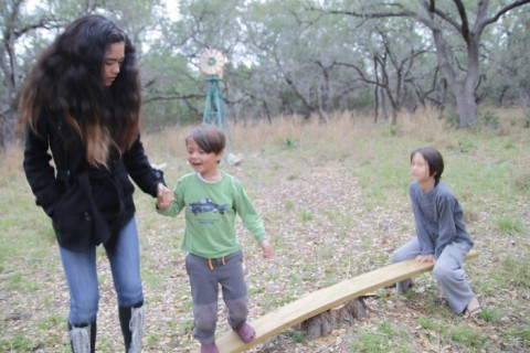 happy texas hill country kids