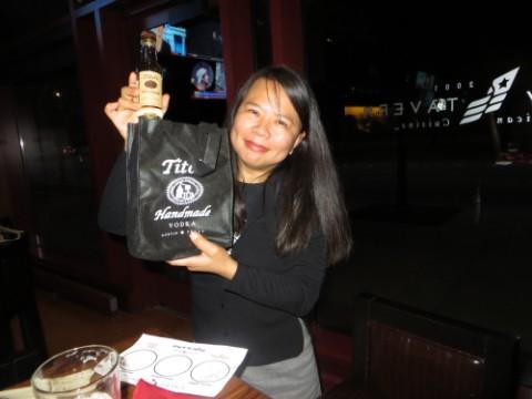 tito's vodka gift bag yelp elite party
