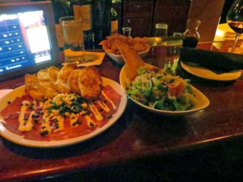 bar food at fleming's austin