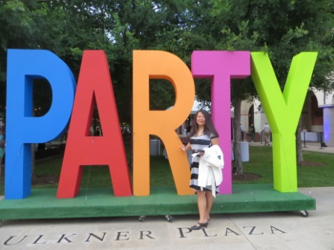 blanton musuem of art UT 50th birthday party