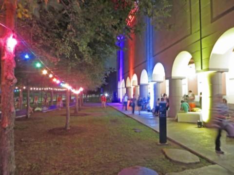 blanton museum of art party