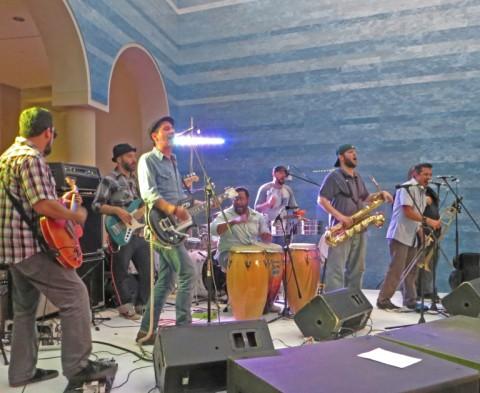 brownout austin band blanton museum party