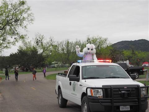 easter bunny garner state park 2015
