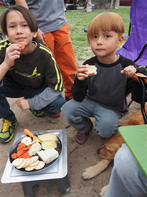campfire cheese and crackers garner april 2015