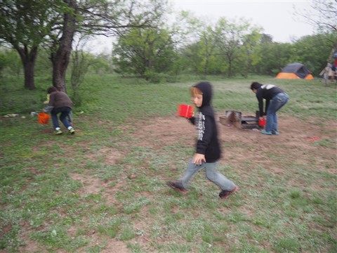 garner state park egg hunt easter 2015