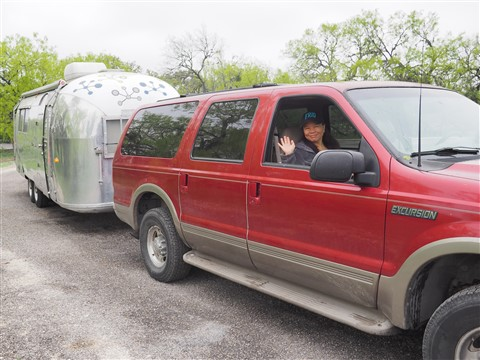 1964 airstream overlander garner state park 2015 ford excursion powerstroke