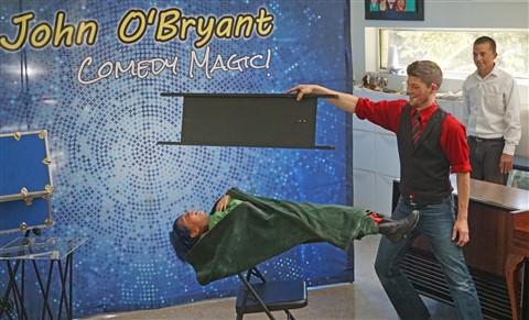 John O'Bryant birthday levitation