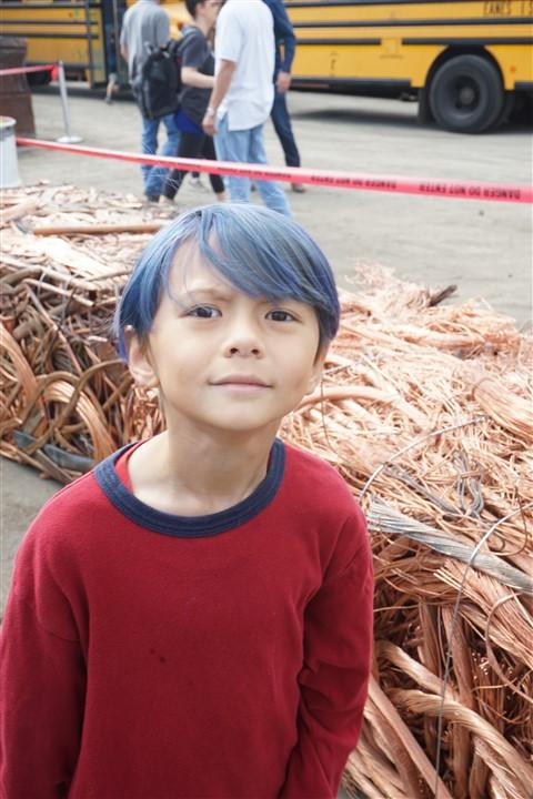 eanes school field trip to austin metal recycling