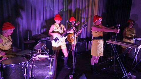 We Are Not Men-DEVO cover band