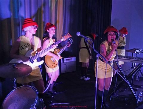 we are not men- all girl devo cover band austin