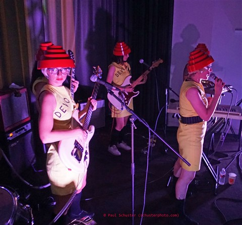 We Are Not Men- Austin Contemporary all girl devo cover band