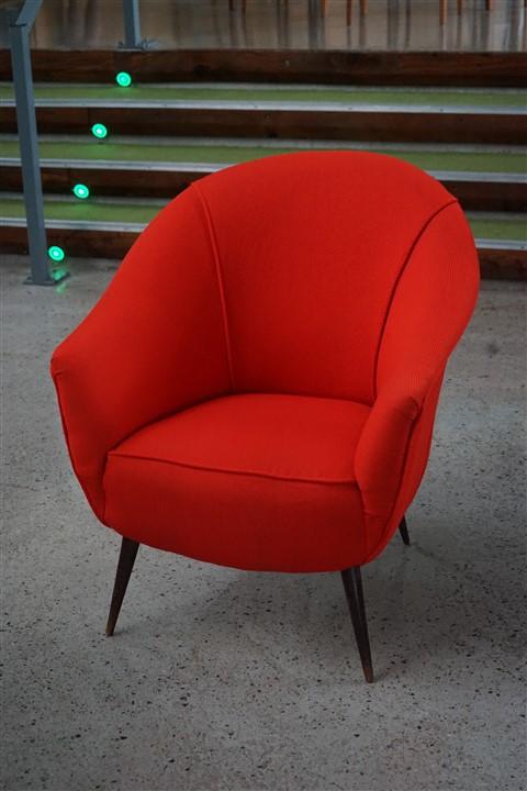 italian MCM arm chair circa 1930