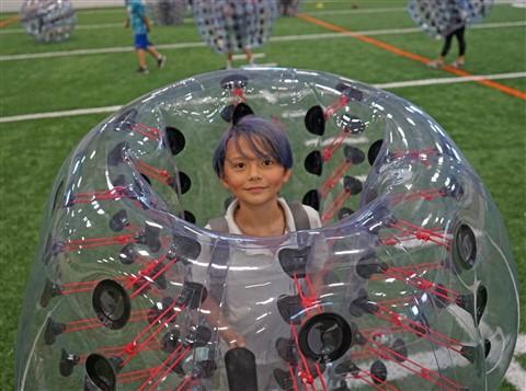 bubble boy soccer