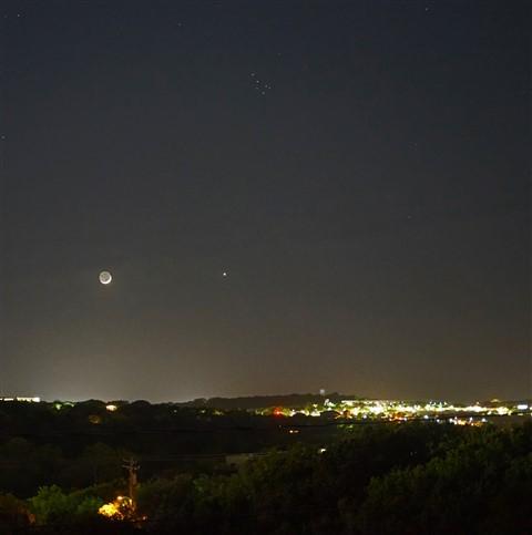 moon over westlake heb