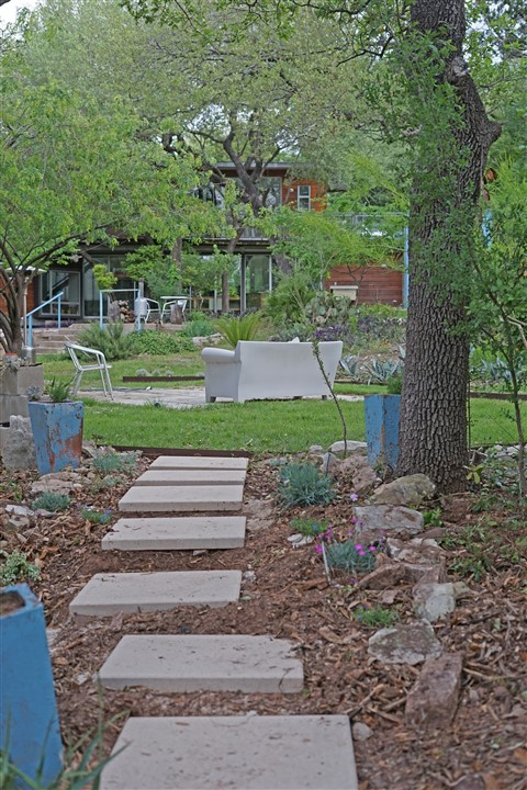 new paver path