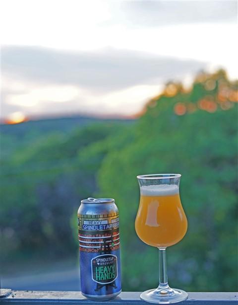 spindletap heavy hands beer craft beer texas