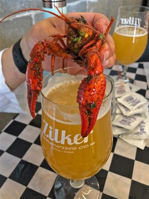zilker brewing spicy boys crawfish & ska/punk