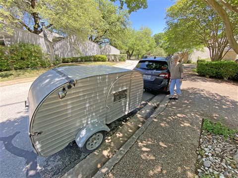 subaru teardrop trailer camper small tiny home