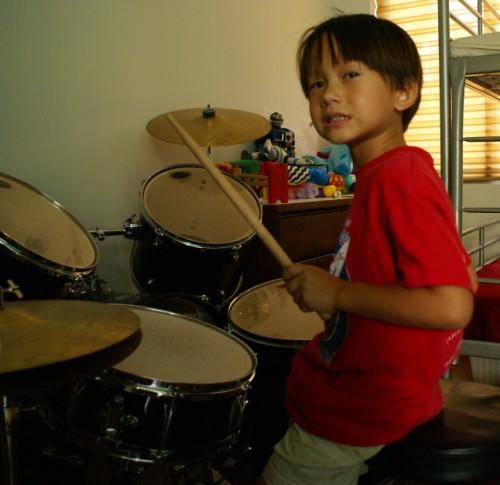 heavy metal drummer