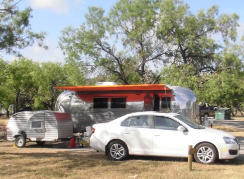 teardrop trailer and airstream at garner