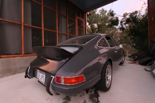 early porsche 911 ass
