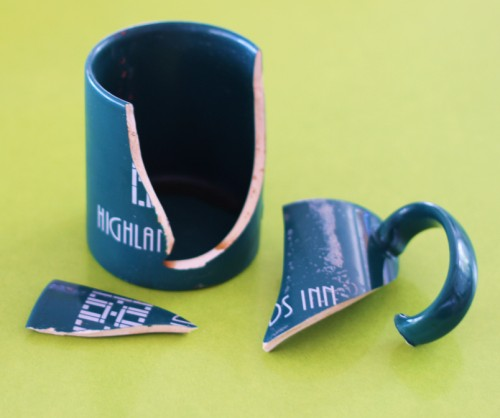 Highlands Inn mug no more