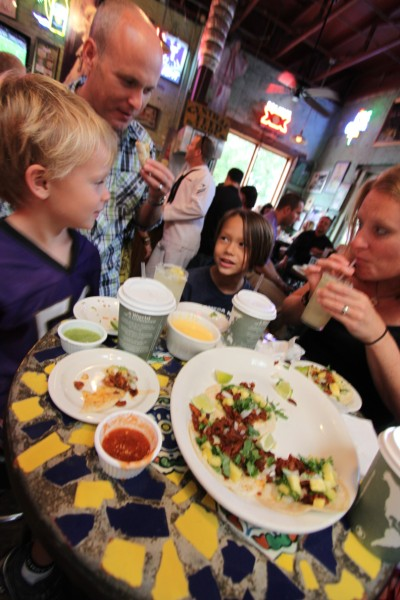 tacos al pastor at guero's