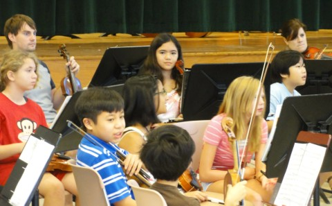 middle school orchestra camp eanes 2011