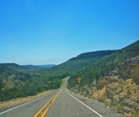 beautiful bandera county texas hill country