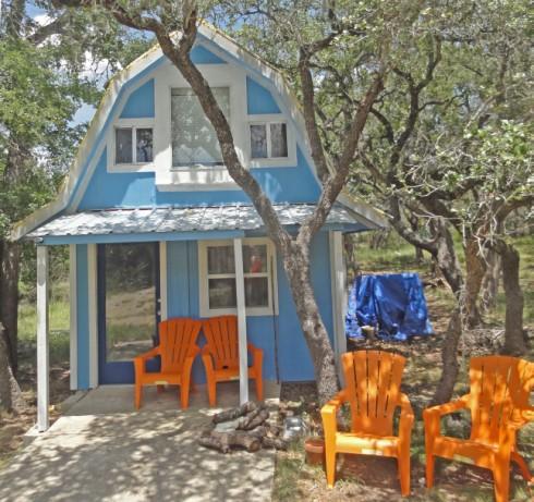 wimberley fischer barn cabin project